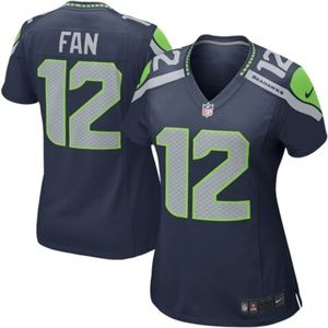 Women's Seattle Seahawks Fan 12s Jersey